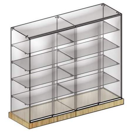 Vitrina D Modular, coleccionismo, estantes de Cristal ...