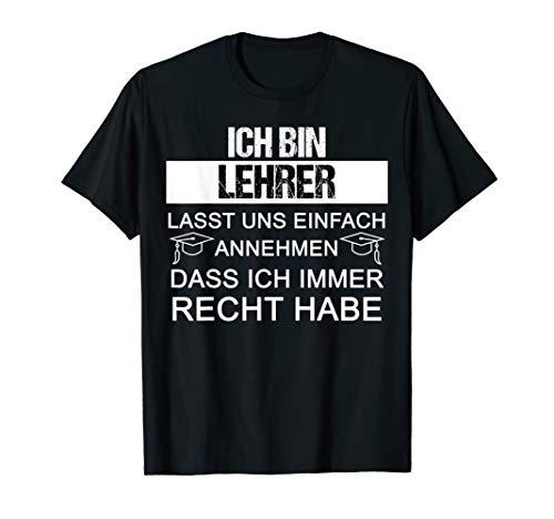 Lehrer Geschenk lustig Abschied Klassenlehrer T-Shirt