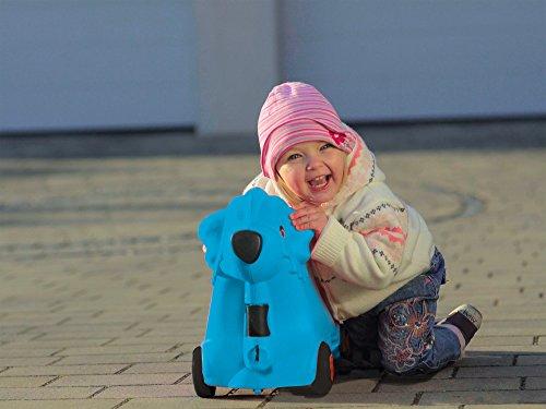 BIG 800055352 - Bobby-Trolley, Kinderkoffer, Kindergepäck, blau - 9