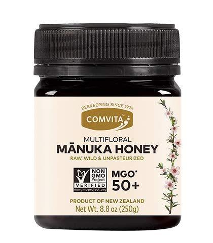 Comvita MGO 50+ Raw Multifloral Manuka Honey I New Zealand's #1 Manuka Brand I Authentic | Non-GMO Superfood for Everyday Wellness I 8.8 oz