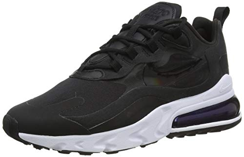 Nike Air MAX 270 React Women's Shoe, Zapatillas para Correr Mujer, Black/Black-White, 38 EU