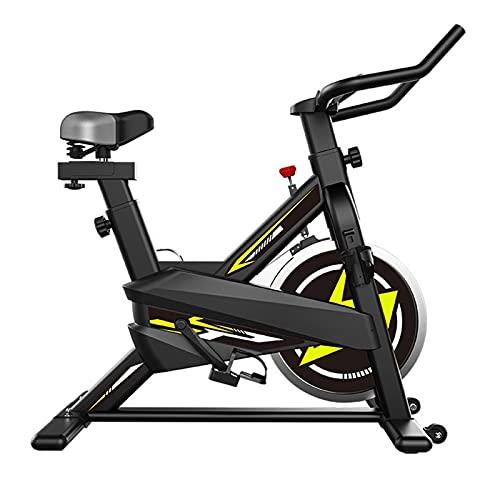 DJDLLZY Bicicletas estáticas, el ciclismo de interior, peloton bicicletas de ejercicio, bicicletas estáticas, Peloton bicicleta de ejercicio, entrenamiento cardiovascular, manillares ajustables Asient