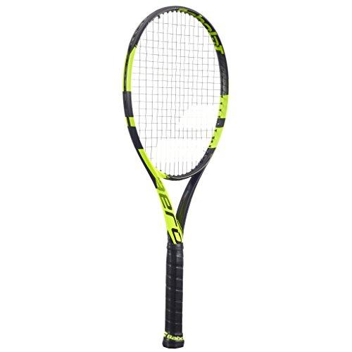 Babolat Pure Aero Unstrung NC Racchette da Tennis, Uomo, Uomo, Pure Aero Unstrung NC, Nero/Giallo