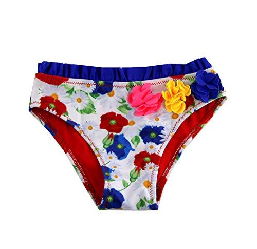 SOL Y PLAYA-Bañador niña para Slips de natación Traje de Baño para Bebés Bañador Braguita...