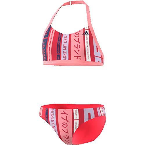 adidas Kinder YA Bikini, Rosglo/Indtec, 128 (7/8 años)