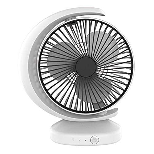 SKYEI Escritorio de Ajuste de Ventilador eléctrico Superficie Silencio de Carga Enchufe...