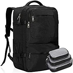 Hynes Eagle 44L Carry on Backpack (2019) trolley sleeve