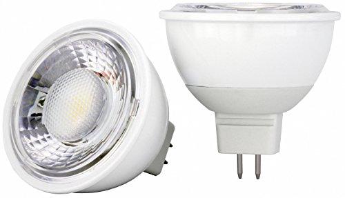 AdLuminis LED Reflektorlampe MR16 GU5,3 Sockel, 7W, 630 Lumen, Energieklasse A++, dimmbar