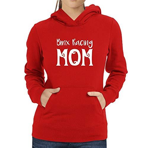 Eddany BMX Racing Mom Felpa Donna