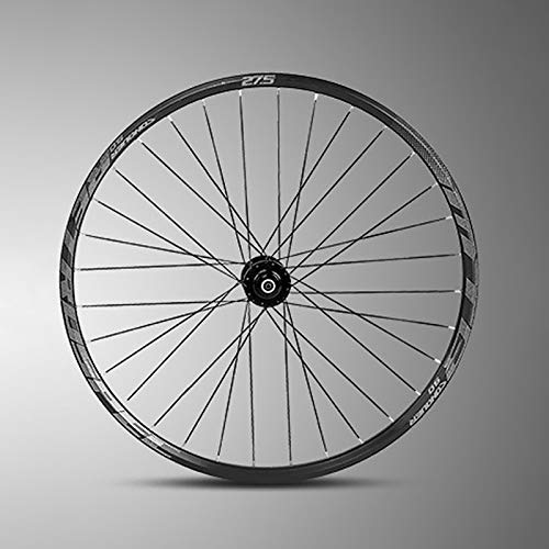 ZHENHZ Juego de Ruedas de Bicicleta de Montaña Juego de Ruedas de Bicicleta de 27.5/29 Pulgadas Aleación de Aluminio de Doble Pared llanta MTB, Freno de Disco, Liberación Rápida,B,27.5 in