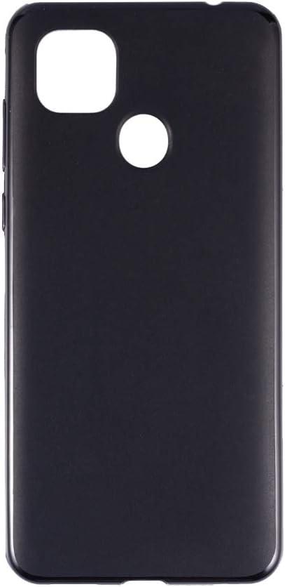 ZTE Zmax 10 Case, Scratch Resistant Soft TPU Back Cover Shockproof Silicone Gel Rubber Bumper Anti-Fingerprints Full-Body Protective Case Cover for ZTE Z6250 (Black)
