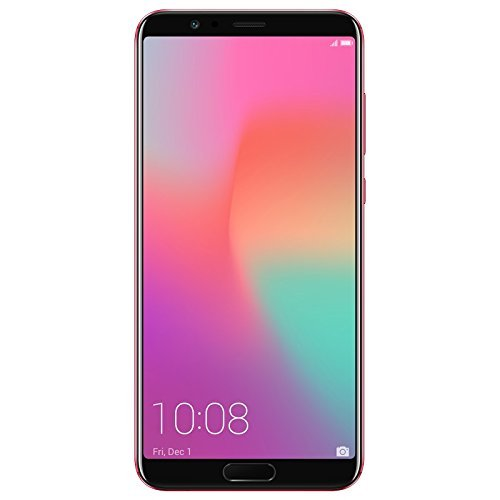 """Honor View 10 (15,21 cm (5,99 Zoll) 16+20 MP Hauptkamera, 13 MP Frontkamera, 128 GB Speicher, 6 GB RAM, LTE, Android) phoenix red """"limited edition"""""""