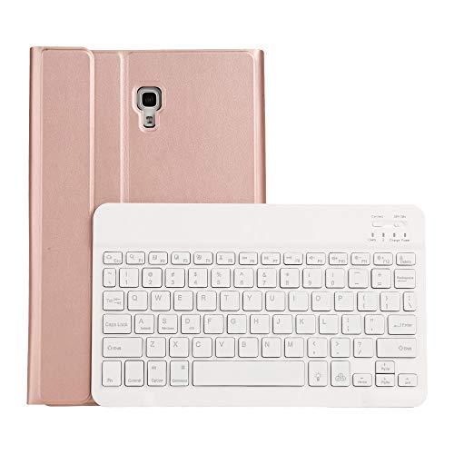 Accesorios de tabletas ST590S Bluetooth 3.0 Textura de lana fina Cuero PU Cuero desmontable Sevencolor Retroiluminación Funda de cuero con teclado Bluetooth for Samsung Galaxy Tab A 10.5 pulgadas T590