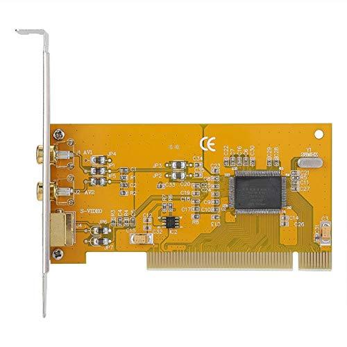 Shipenophy Tarjeta HD Tarjeta de Captura Duradera Tarjeta de adquisición de Datos Plug and Play confiable y Estable Tarjeta de Video fácil de Instalar para computadora para PC