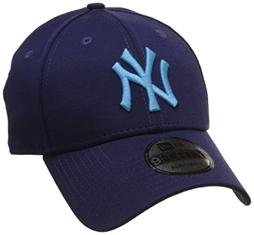 New Era Jersey Pop 940 New York Yankees Navy/Vice Blue Casquette 9FORTY Homme, Noir, FR Unique (Taille Fabricant : OSFA)