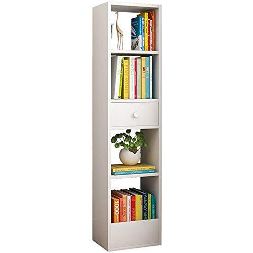 Librería - Creative Drawer Floor Type Multi-Function Multi-Layer Storage Shelf 30 X 25 X 120Cm (3 Colores Disponibles), a