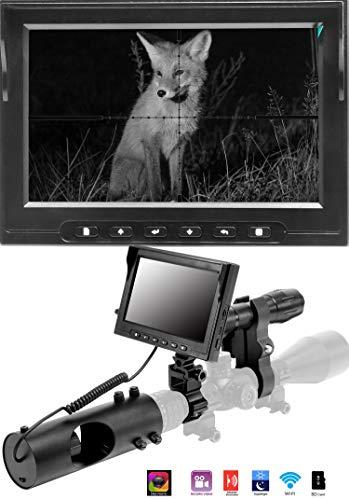 JASHKE Digitales Monokular mit Nachtsichtfunktion zum Fotografieren und Aufnehmen von Videos für die Jagd