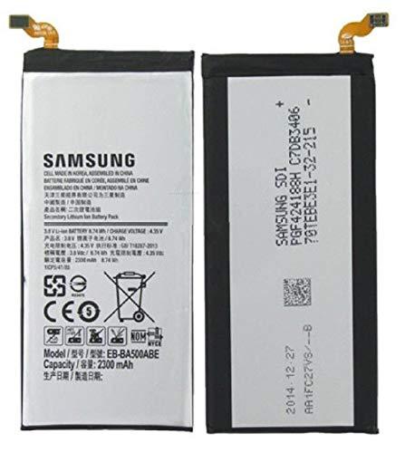 Batteria di ricambio originale per Samsung Galaxy A5 A500F, EB-BA500ABE, 2300 mAh