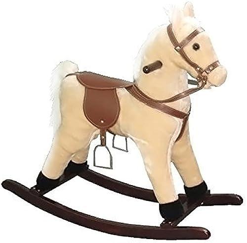 venta directa de fábrica Alexander Taron Rocking Horse Palomino with Sounds Sounds Sounds 24H x 12W x 29D by Alexander Taron  calidad garantizada