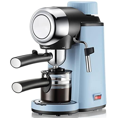 Ekspres do kawy espresso maszyna do cappuccino 19 barowy system szybkiego podgrzewania z mocnym zbiornikiem na mleko, jednoprzyciskowe zaparzanie espresso