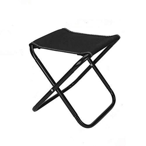 YuuHeeER Taburete compacto de viaje mini portátil plegable taburete portátil al aire libre plegable silla 1 pieza