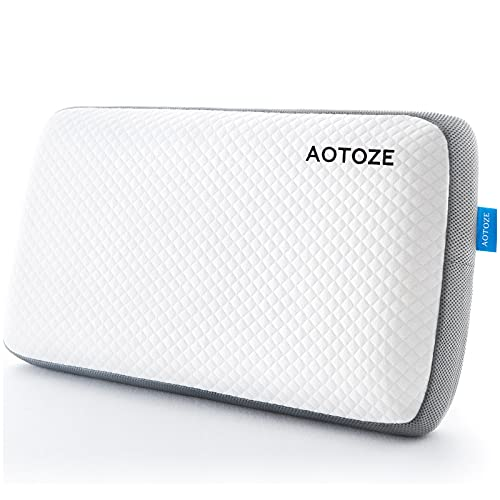AOTOZE Memory Foam Pillow , Orthopedic Pillows for Sleeping , Bed...