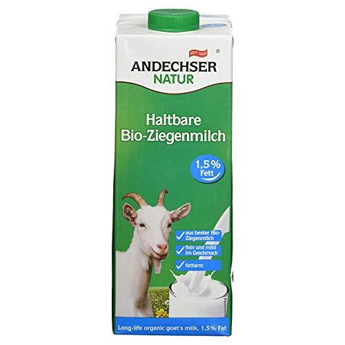Andechser Latte Di Capra Parzialmente Scremato Uht - 1 ml