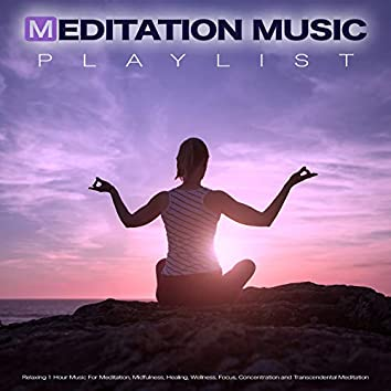 Meditation Music Playlist: Relaxing 1 Hour Music For Meditation, Mindfulness, Healing, Wellness. Focus, Concentration and Transcendental Meditation
