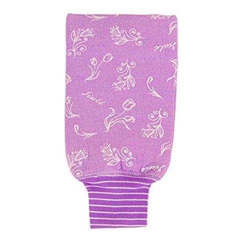Tulip éponge laveur Éponge de lavage serviette de bain Gant, Pourple
