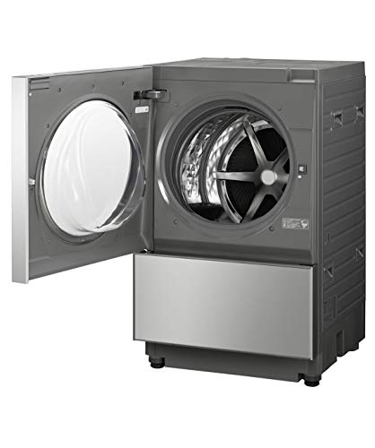 パナソニックななめドラム洗濯乾燥機Cuble(キューブル)10kg左開きプレミアムステンレスNA-VG2400L-X
