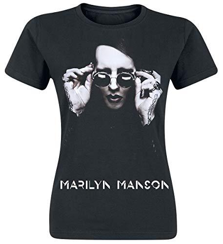 Marilyn Manson Specks Frauen T-Shirt schwarz L 100% Baumwolle Band-Merch, Bands