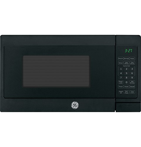 GE Appliances JEM3072DHBB GE 0.7 Cu. Ft. Capacity Countertop Microwave Oven, Black