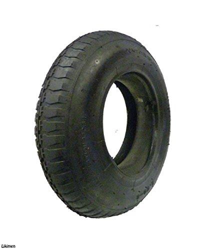Roue de brouette et chambre à air et pneu Brouette 3.50–8en caoutchouc Chambre à air 35PSI