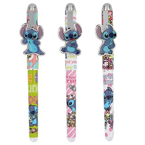 Disney Stitch Metal Clip Pens - 3 pc Set