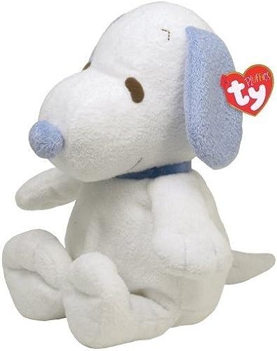 Ty Pluffies Snoopy - Weiß Blau by Ty