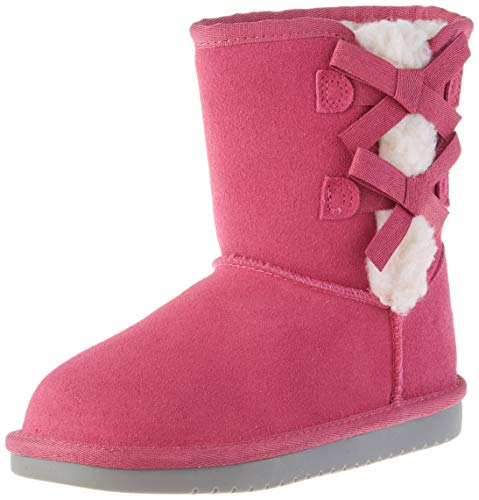 Koolaburra by UGG Kid's Victoria Short Boot Classic Boot, Botines para niños, color Raspberry Rose, 21 EU