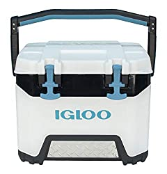 professional Igloo BMX 25 Quart Cooler with Cool Riser Technology, White