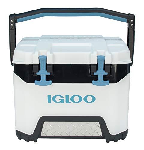 Igloo BMX 25 Quart Cooler with Cool Riser Technology, White