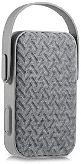 AIBIMY MY220BT Portable Bluetooth Speaker with Hands-free AUX Input USB TF Card Slot - GREY