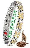 N3 ZELEK Pulseras Hombre Pulseras Magnética Regalos Pulseras Mujer IMANES POTENTES Piedras Chakras BIO THERAPY Regalos Hombres Magnética Artritis Para Aliviar el Dolor Hombres Brazalete Hombre Ropa