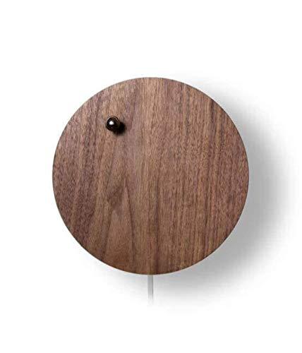 宙に浮かんだクロム鋼球が時を刻む——浮遊式多機能時計「STORY」 walnut [並行輸入品]