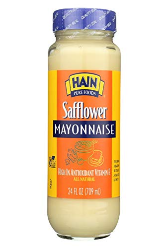 Hain Pure Foods Safflower Mayonnaise ( 12x24 Oz)