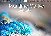 Maritime Motive - abstrakt (Wandkalender 2022 DIN A4 quer): Fundstuecke von den Fischereihaefen der Normandie (Monatskalender, 14 Seiten )