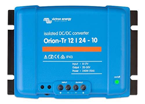 Victron Energy ORI122424110 Orion-TR Isolated DC Converter, De 12 a 24 V-10A (240W)