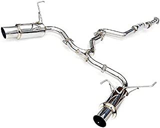 Invidia (HS15STIGTP) N1 Stainless Steel Tip Dual Cat-Back Exhaust System for Subaru WRX/STI