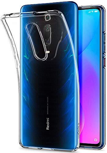 Spigen Cover Xiaomi Mi 9T / Mi 9T PRO Liquid Crystal Progettato per Xiaomi Mi 9T / Mi 9T PRO Cover Custodia - Crystal Clear