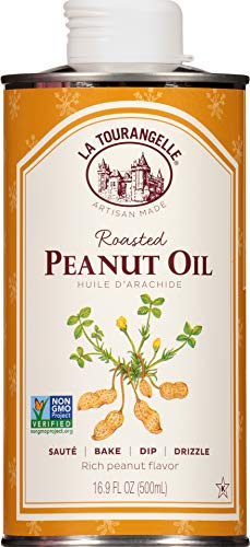 La Tourangelle, Roasted Peanut Oil, 16.9 Ounce (Packaging may...