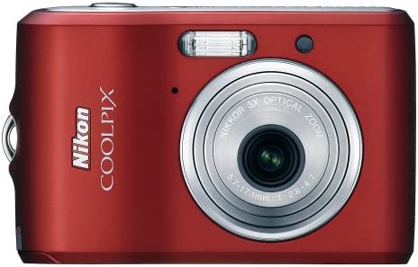 Nikon Coolpix L18 8MP Digital Camera Optical with 67% OFF of fixed Raleigh Mall price Ruby Zoom 3x