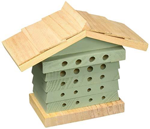Wildlife World Solitary Bee Hyve, Green/Brown