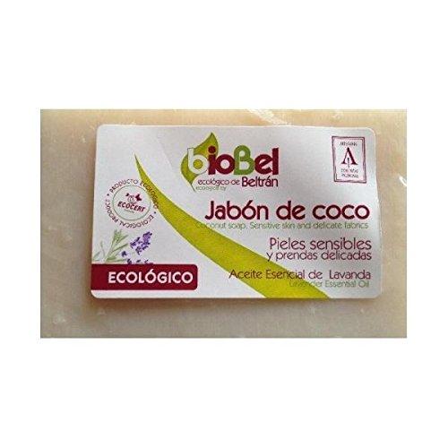 BioBel 56028 - Jabón de Coco para Pieles sensibles y Prendas delicadas 240 g